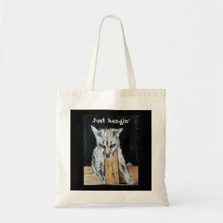Bolsa Tote Apenas hangin cada sacola do dia com arte