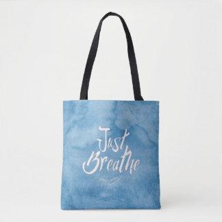Bolsa Tote Apenas respire - SACOLA - o céu azul