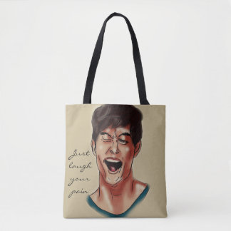 Bolsa Tote Apenas ria sua dor