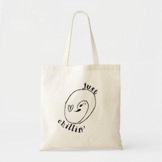 Bolsa Tote Apenas sacola do orçamento de Chillin