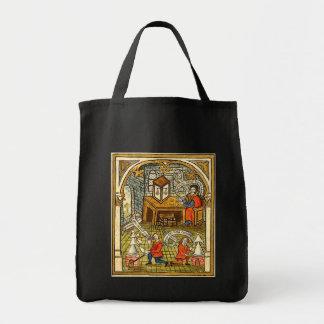 Bolsa Tote Aprendizes em um laboratório medieval