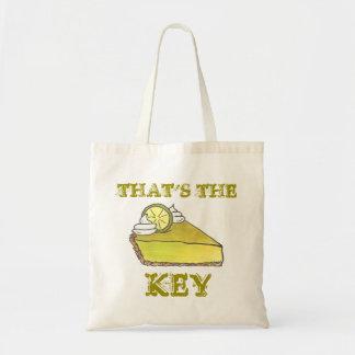 Bolsa Tote Aquela é a sacola chave da torta do limão chave