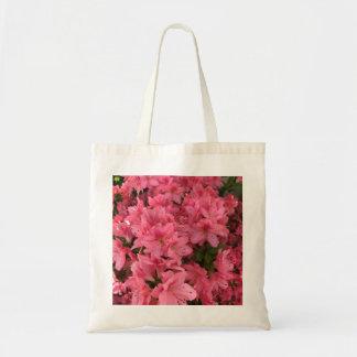 Bolsa Tote Arbusto de florescência cor-de-rosa brilhante