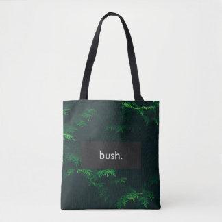 Bolsa Tote arbusto. Impressão completo customizável