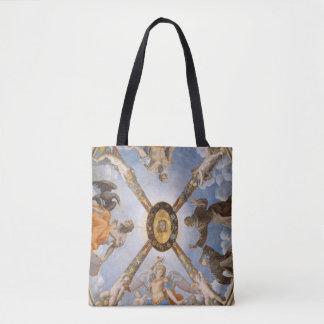 Bolsa Tote Arcanjos e santos do fresco da capela de Bronzino