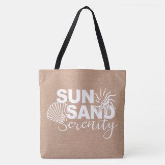 Bolsa Tote Areia e serenidade de Sun