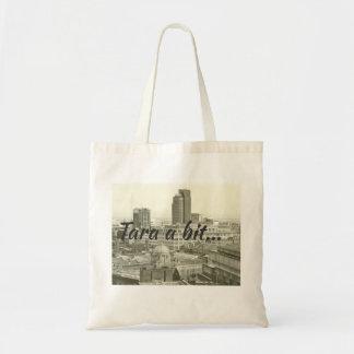 Bolsa Tote Arquitectura da cidade & brumie de Birmingham que