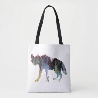Bolsa Tote Arte da hiena