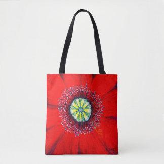 Bolsa Tote Arte de florescência - Poopy optimista, por