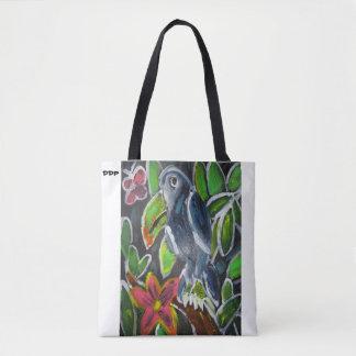 Bolsa Tote Arte de Toucan da floresta tropical