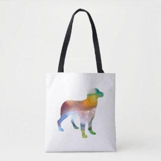 Bolsa Tote Arte do cão de Brittany
