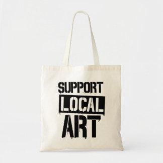 Bolsa Tote Arte do local do apoio