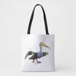 Bolsa Tote Arte do pelicano