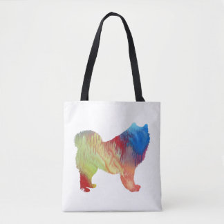 Bolsa Tote Arte do Samoyed