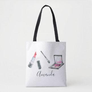 Bolsa Tote Arte feita sob encomenda personalizada maquilhador