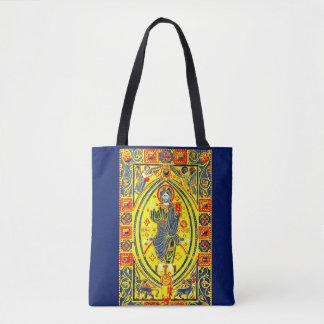 Bolsa Tote Arte popular bizantina Jesus