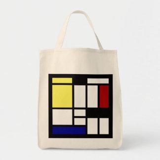 Bolsa Tote Arte quadrada moderna