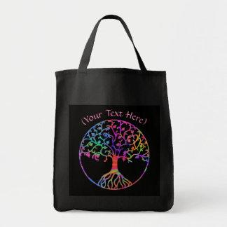 Bolsa Tote Árvore de vida mágica