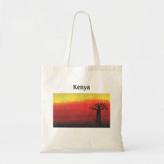 Bolsa Tote Árvore do Baobab de Kenya
