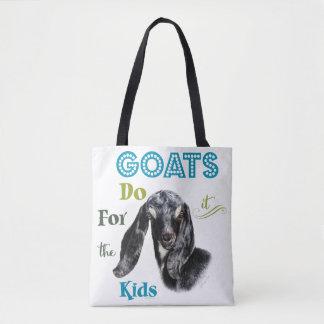 Bolsa Tote As CABRAS | fazem-no para os miúdos GetYerGoat™