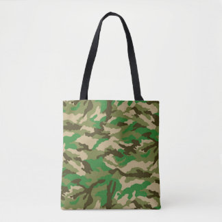 Bolsa Tote as forças armadas camuflam