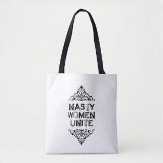 Bolsa Tote As mulheres desagradáveis unem a sacola