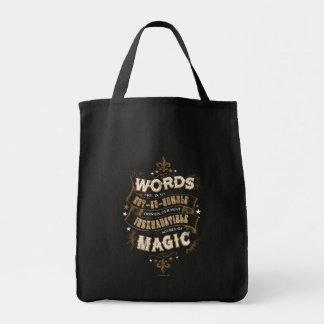 Bolsa Tote As palavras do período | de Harry Potter são nosso