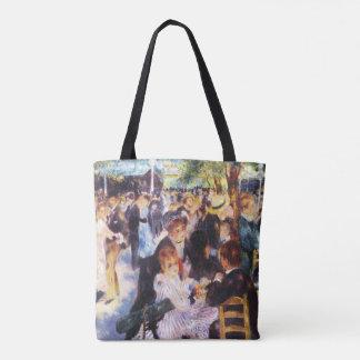 Bolsa Tote Auguste Renoir - dance no la Galette de Le moulin