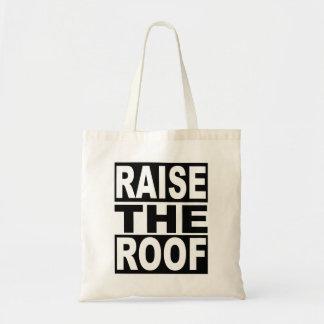 Bolsa Tote Aumente o telhado