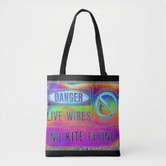 Bolsa Tote Aviso colorido