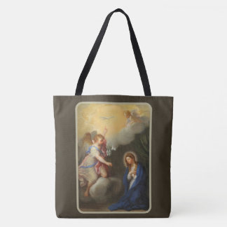 Bolsa Tote Aviso do arcanjo Gabriel de Mary