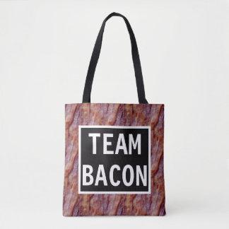 Bolsa Tote Bacon da equipe