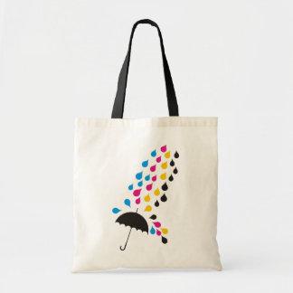 Bolsa Tote Bag CMYK Rain