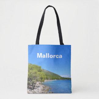 Bolsa Tote Baía de Mallorca da lembrança de Formentor