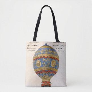 Bolsa Tote Balão de ar quente dos irmãos de Montgolfier