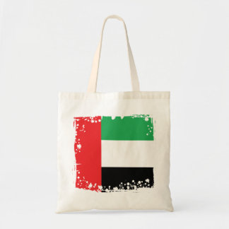 Bolsa Tote Bandeira abstrata dos UAE, saco de United Arab