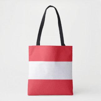 Bolsa Tote Bandeira austríaca patriótica