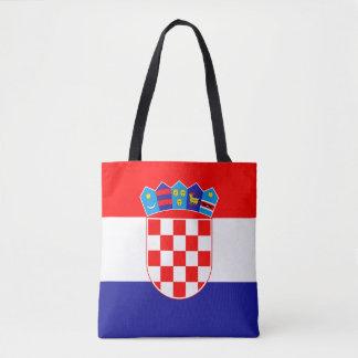Bolsa Tote Bandeira croata patriótica