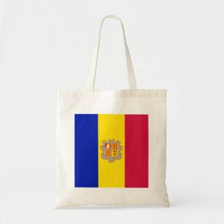 Bolsa Tote Bandeira de Andorra