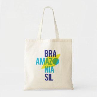 Bolsa Tote Bandeira de Brasil Amazónia