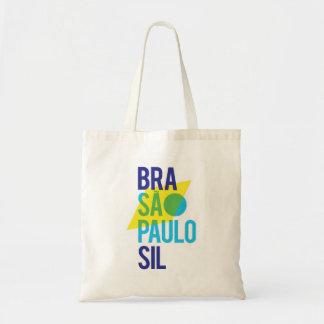 Bolsa Tote Bandeira de Brasil São Paulo