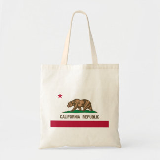 Bolsa Tote Bandeira de Califórnia