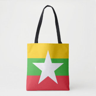 Bolsa Tote Bandeira de Myanmar