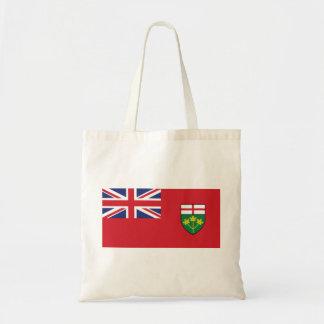Bolsa Tote Bandeira de Ontário