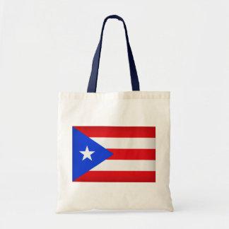 Bolsa Tote Bandeira de Puerto Rico