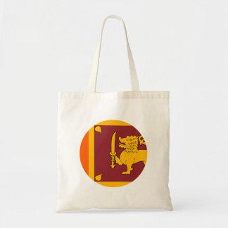 Bolsa Tote Bandeira de Sri Lanka