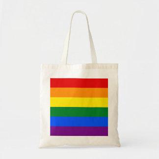 Bolsa Tote Bandeira do arco-íris