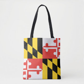 Bolsa Tote Bandeira do estado de Maryland
