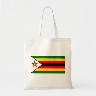Bolsa Tote Bandeira do weZimbabwe de Zimbabwe - de