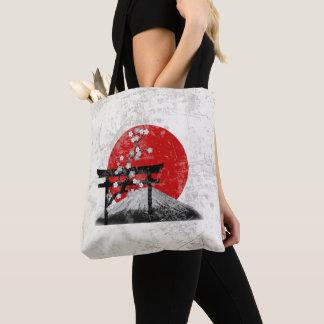 Bolsa Tote Bandeira e símbolos de Japão ID153